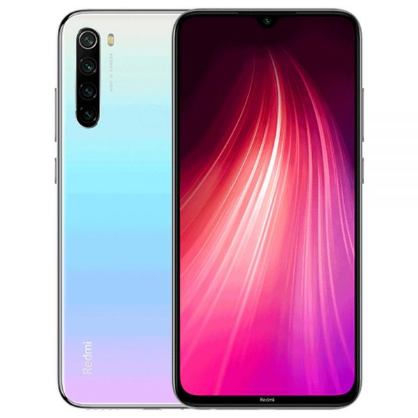 Smartfon XIAOMI REDMI NOTE 8 | 4GB+64GB EU | MOONLIGHT White 1