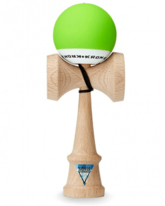 Kendama KROM POP LIME GREEN-Jasno-zielony 2